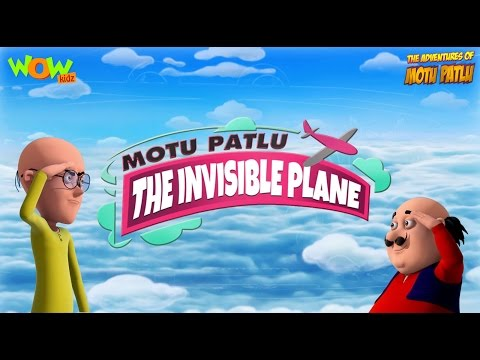 Motu Patlu in Invisible Plane - Movie Promo -  3D Animation Movie for Kids |As on Nick Jr. thumbnail