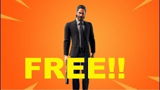 How to get John wick Skin For FREE...