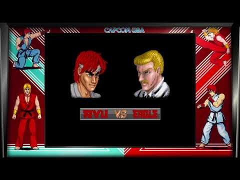 Street Fighter 30th Anniversary Collection (PC) Street Fighter I Ryu Longplay & Ending |