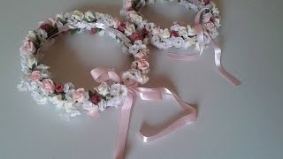 Tiara de Flores – Passo a Passo – By Artes de Luxo