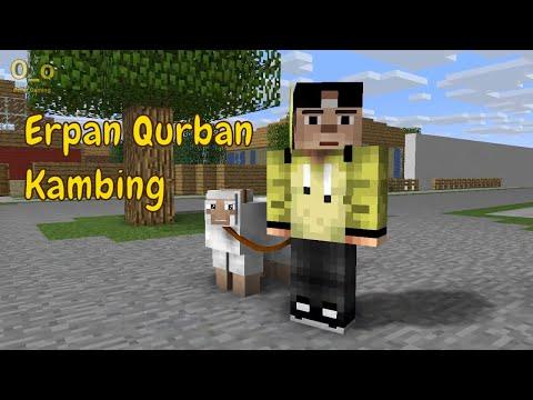 CUMA DISINI !! - Sketsa Minecraft ft. 4 Brother Special Idul Adha | Minecraft Animation Indonesia