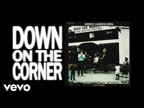 Creedence Clearwater Revival  Down On The Corner Lyric