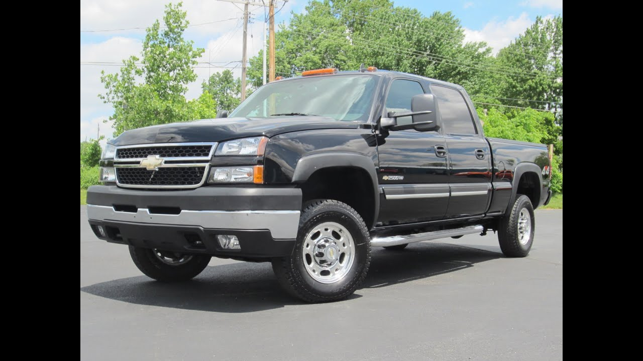 Chevy 2500 Diesel For Sale >> 2006 Chevy 2500HD LT 4X4 6.0L Vortec 92k miles SOLD!!! - YouTube