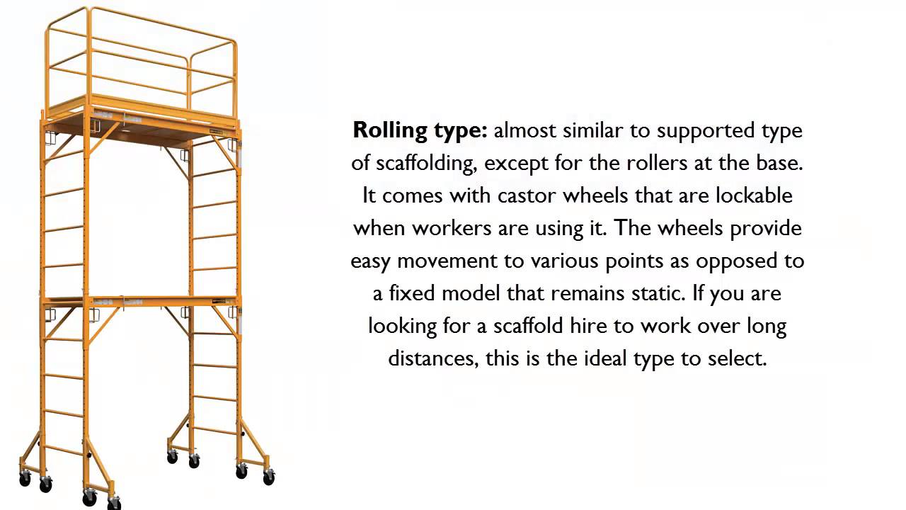Three Types Of Scaffolding : Scaffold hire types of scaffolds available in perth