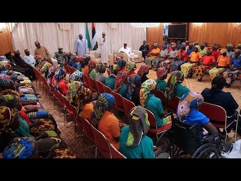 Nigeria government to cater for rehabilitation of rescued Chibok girls