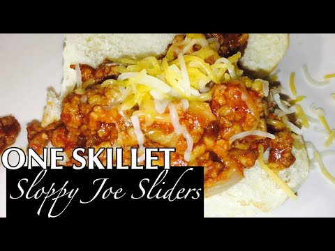 SKILLET SLOPPY JOES | EASY STOVE TOP RECIPE!