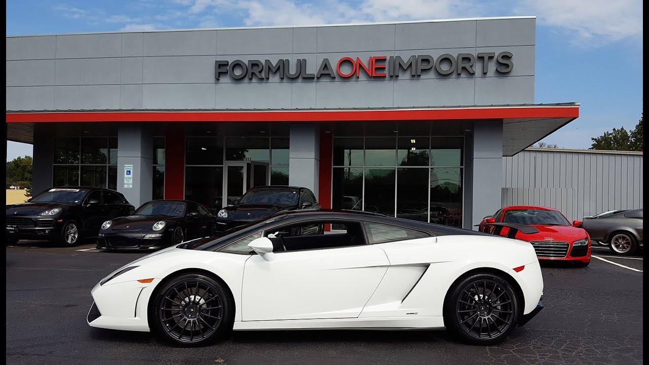 2012 Lamborghini Gallardo Bicolore Lp550 2 For Sale Formula One