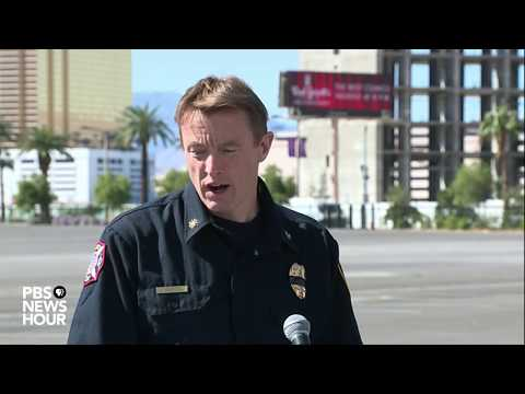 WATCH: Las Vegas officials discuss recovery of possessions from shooting site