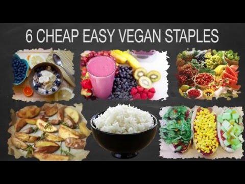 6 Cheap Easy Vegan Staples