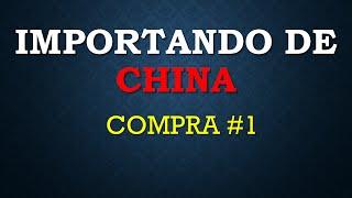 IMPORTAR DE CHINA COMPRA #1 EN TINYDEAL