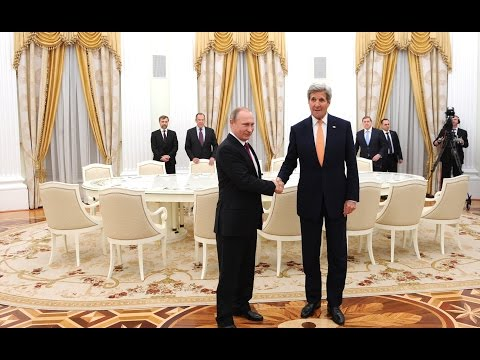 Vladimir Putin. Meeting with US Secretary of State John Kerry