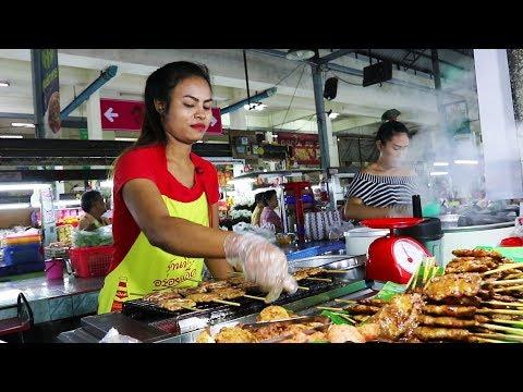 Thai Breakfast Street Food Tour | FOOD IN THAILAND – Krabi Morning Market