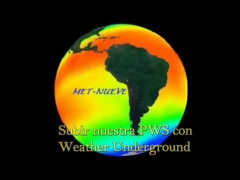 Cómo subir nuestra PWS a weather underground con Cumulus