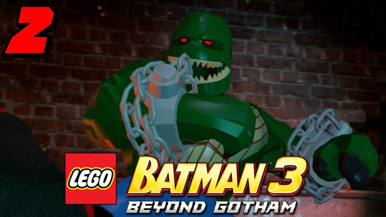 Lego Batman 3 Beyond Gotham Let's Play Part 2 Killer Croc ...