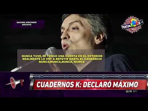 Máximo Kirchner declaró en la causa de los cuadernos