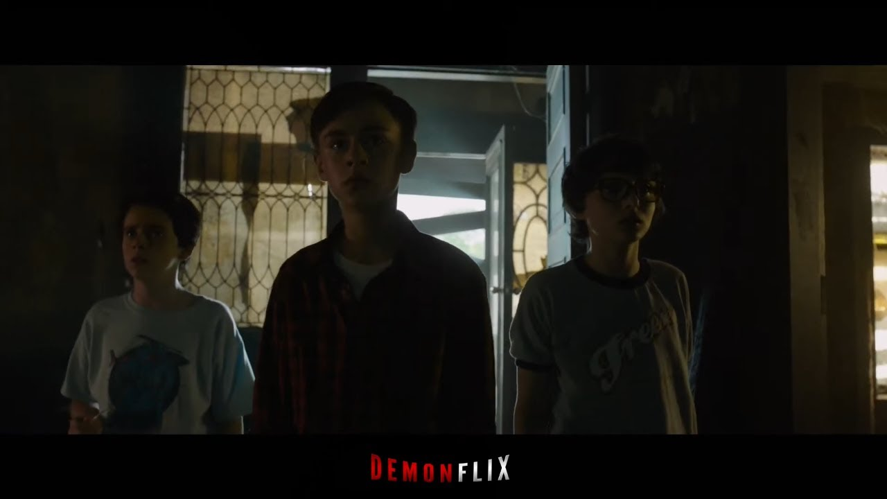 Download It (2017)   09/17   Looser Entry in Neibolt House Scene in Hindi   Demonflix Flashback