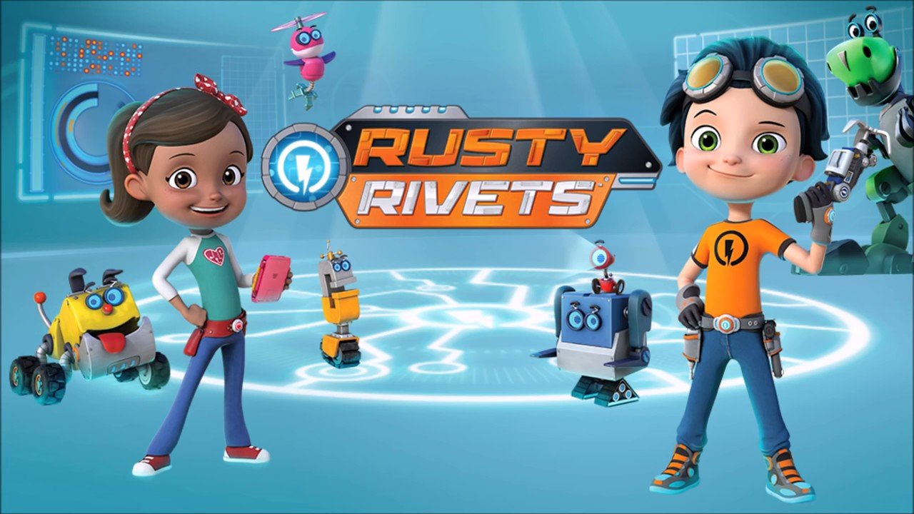 Rusty Rivets Theme Song Youtube