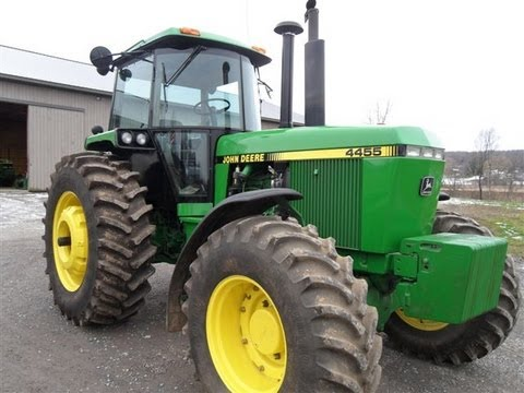 1991 Jd 4455 Tractor With 33 Hours Sold For 155 000 Youtube