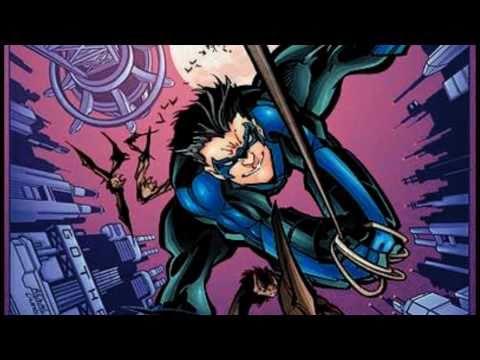 Dick Grayson... the new Batman!