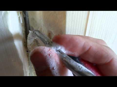 Утечка фреона в запененной части холодильника