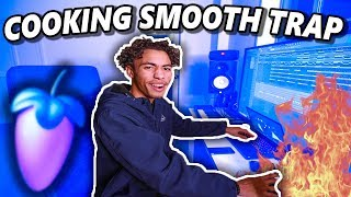 How To Make The SMOOTHEST Trap Beat In 10 MINUTES!!! (Fl Studio 20 Making Trap Beat From Scratch)