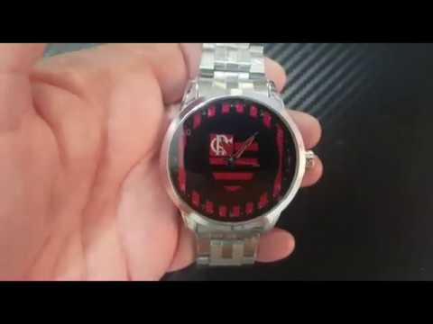 Apresentação Relógio Flamengo 1608G - YouTube 3482c3fa74