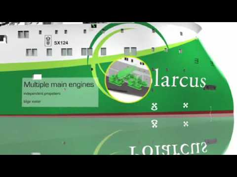 Polarcus 12 Streamer Seismic Vessel