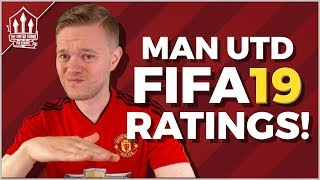 FIFA 19 MANCHESTER UNITED PLAYER RATINGS LEAKED!