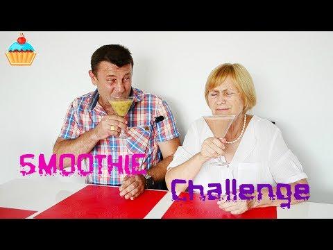"""ВЫЗОВ """"СМУЗИ"""" ЗЯТЬ И ТЕЩА! SMOOTHIE Challenge. Семейная Кухня."""
