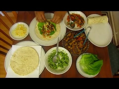 Recipe: Mexican Chicken Fajitas