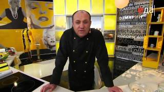 Запеченная красная рыба под шубой из грецкого ореха рецепт от шеф-повара / Илья Лазерсон