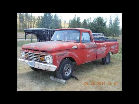 hqdefault 1964 ford f100 crown vic build part 4 front clip removal youtube  at n-0.co