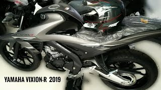 Yamaha Vixion - R (2019)  matte grey