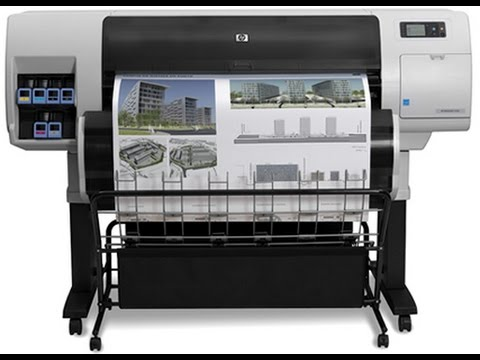 how to using the plotter and printer for printing