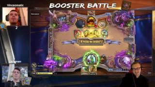 BOOSTER BATTLE : Episode 2 - Le retour du boostiflore.
