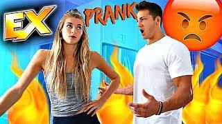 Calling My Boyfriend My Ex's Name PRANK