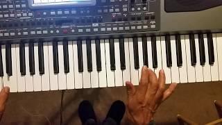 Korg pa 900 al ritmo de mi violin tutorial