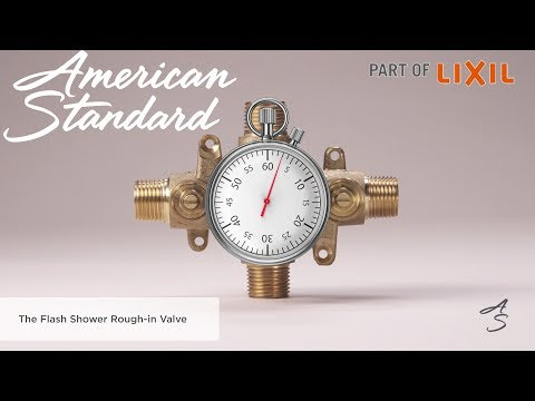 Introducing The Flash Shower Rough-In Valve By American Standard