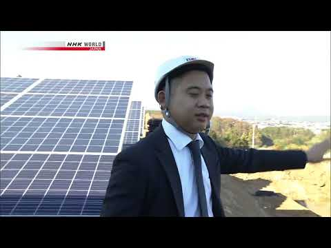 Renewable Energy Shift China Targets Japan   part 2/2   NHK Today's Close up  01 2018
