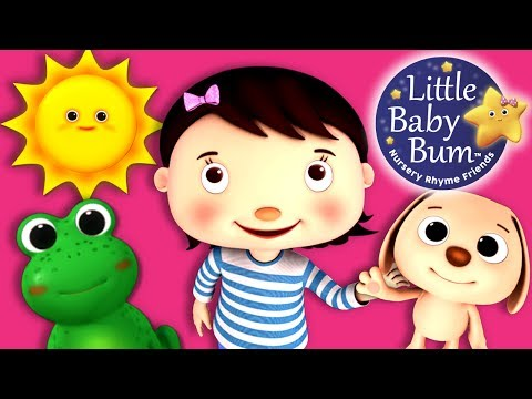 Colors and Actions Song for Children   Nursery Rhymes