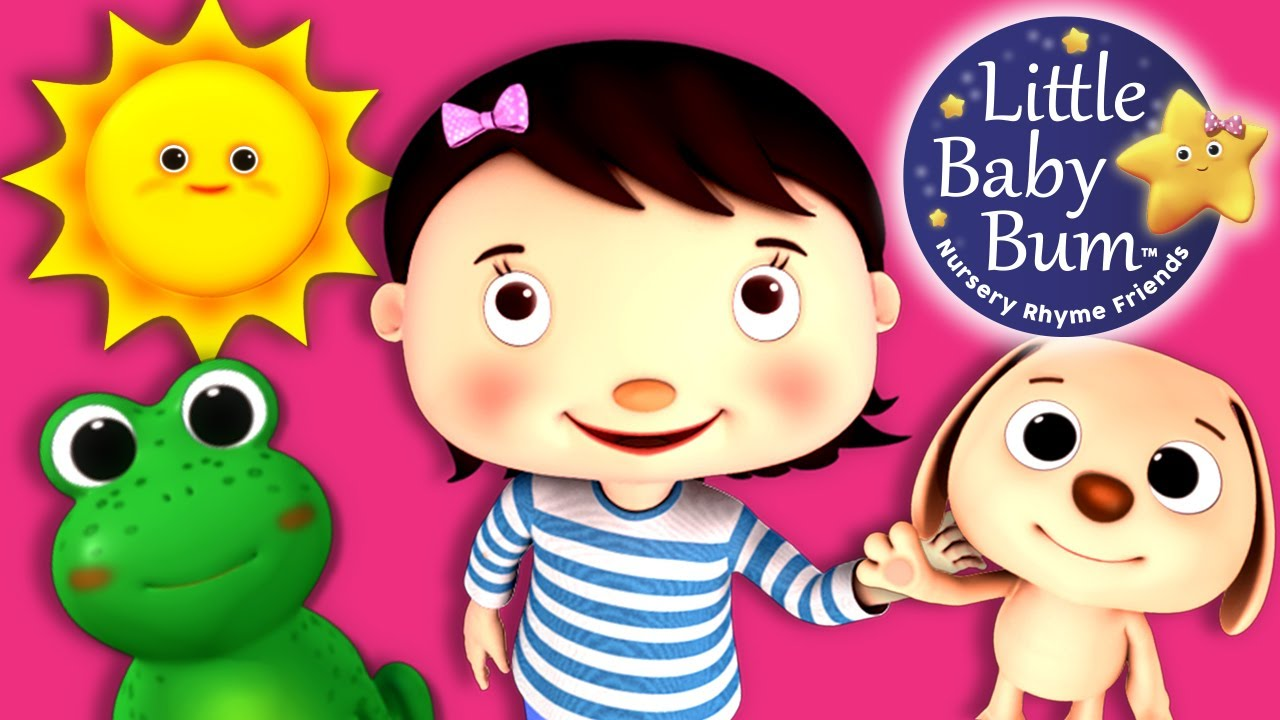 Colors and Actions Song for Children | Nursery Rhymes ...