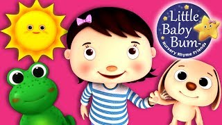 Colors and Actions Song for Children | Nursery Rhymes | Original Song by LittleBabyBum