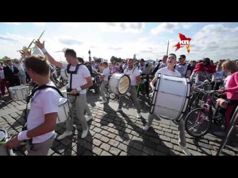 В Москве на Поклонной горе прошел велокарнавал