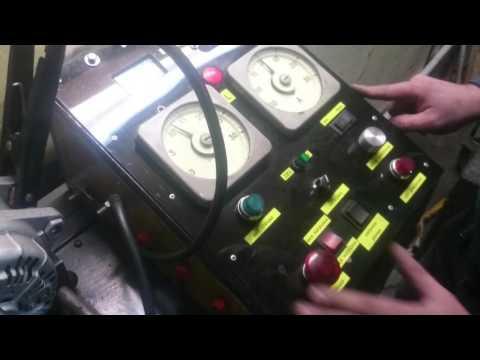 Видеозапись Стенд для проверки генератора самодельный