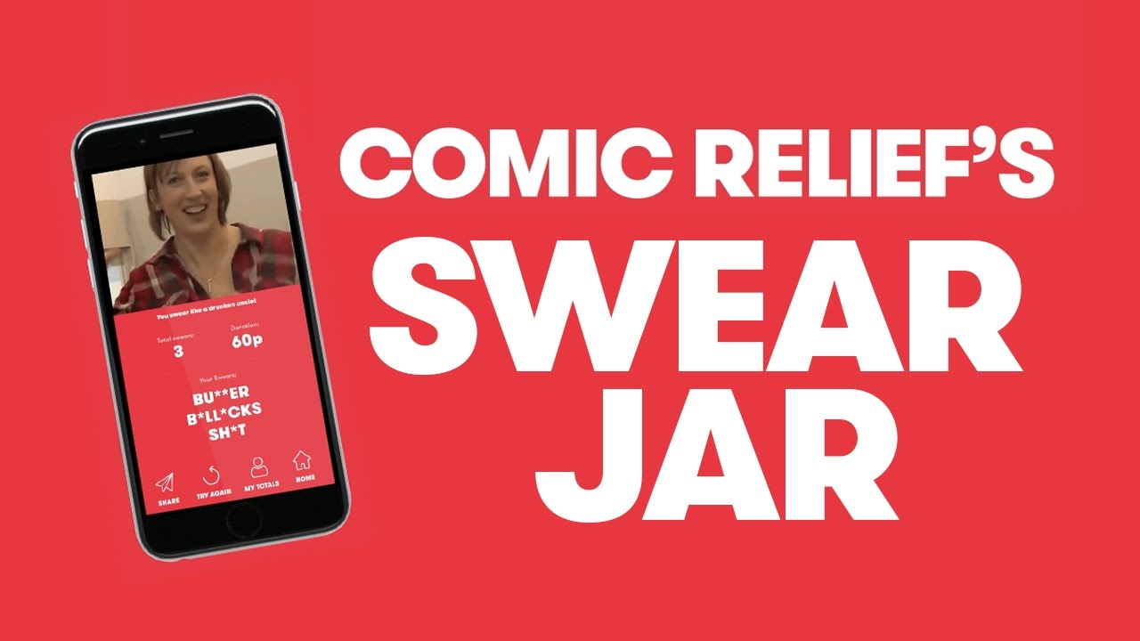 Comic Relief Launches A Digital Swear Jar With The Help Of Bill Nighy And James Corden The Drum