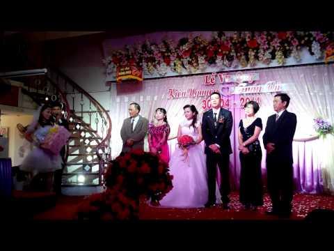 Đám cưới Tuấn Vũ - Kiều nguyên tại nhà hàng Hoàng Long
