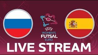 Russia vs. Spain: UEFA Women's Futsal EURO LIVE!