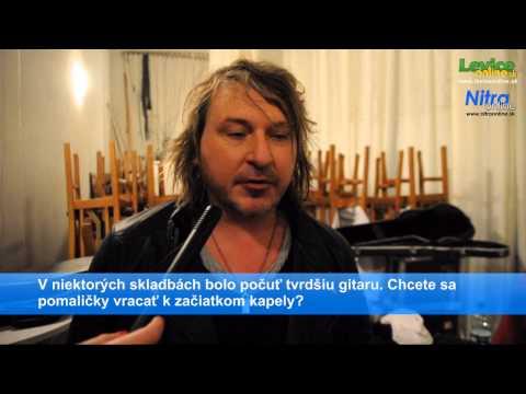 Leviceonline.sk, Nitraonline.sk: Rozhovor so skupinou Gladiator, 13.11.2014, Nitra