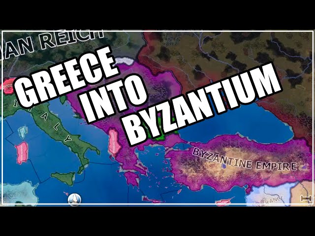 Byzantium Restored - Greece goes for it