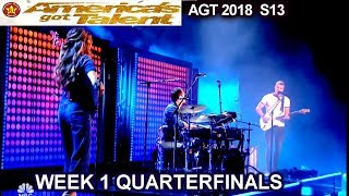 """We Three sings """" So They Say"""" original song  Quarterfinals 1 America"""